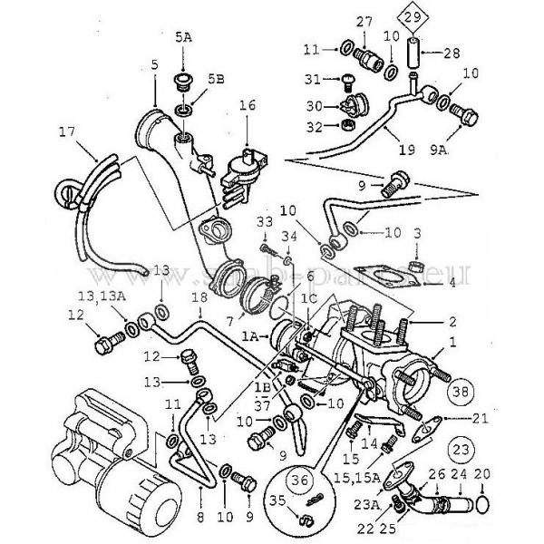 Turbo 2001 2010 Saab Parts 9 5 1998