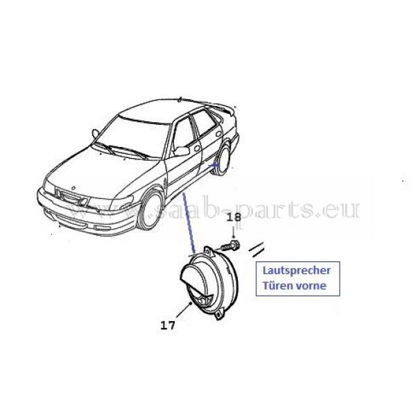 audio t u00fcren  saab parts 9-3 typ-1   1998