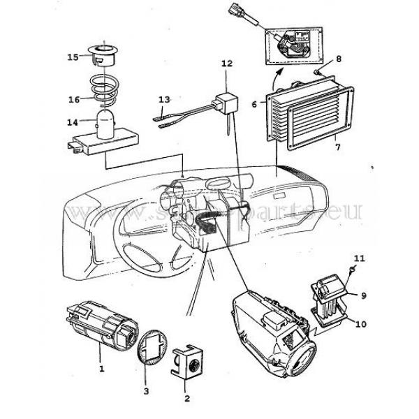 Geber Sensoren 1990 1993 Saab Parts 9000 1985