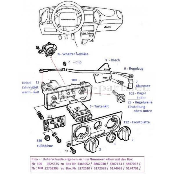 bedienung  saab parts 900 typ 2   1994
