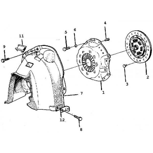 kupplung s u00e4tze  saab parts 900 typ 1   1978