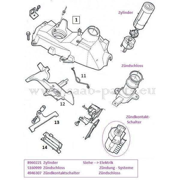 2003 Saab 43533 Transmission: Gehäuse: Saab Parts 9-3 Typ-1 ( 1998
